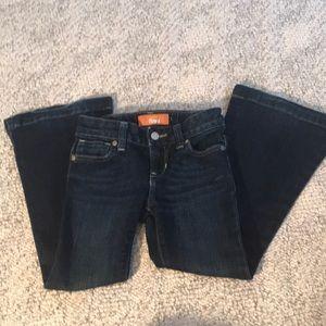 Old Navy Flare girls jeans adjustable waist. Sz 5